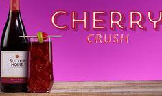 Wine Cocktail: Cherry Crush