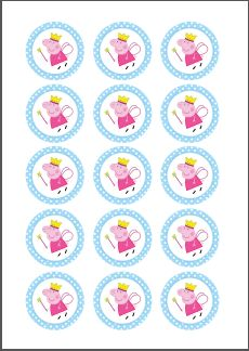 N.M. Galletas Artesanas: Kit de fiesta Peppa Pig {Descarga gratuíta} Fiestas Peppa Pig, Cumple Peppa Pig, Peppa Big, Pig Candy, Thomas The Train Birthday Party, Pig Crafts, Craft Images, Bottle Cap Crafts, Pig Birthday