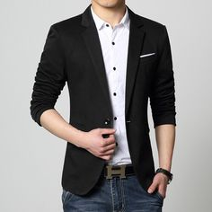 Men's slim fit Fashion Blazer
