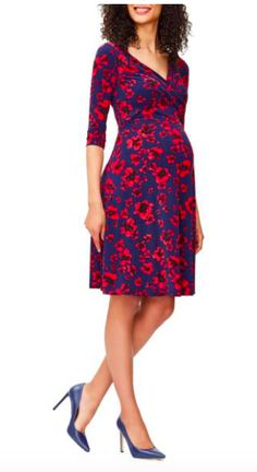 Beautiful floral maternity dress! | Click this pin to find it at Nordstrom.com! | women's fashion | maternity fashion | maternity clothes | maternity style | maternity dress | spring maternity | summer maternity | floral maternity | pregnancy | bump | #ad #maternitydress
