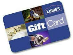 LOVE to shop at Lowe's!  ♥