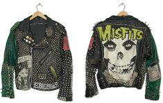 Studded Punk Leather Jacket