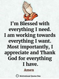 Prayers Of Gratitude, Gratitude Quotes, Faith Quotes, Positive Quotes, Motivational Quotes, Life Quotes, Prayer Scriptures, Faith Prayer, Quotes About God