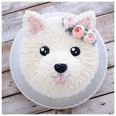puppy cake birthday \ puppy cake for dogs ; puppy cakes for kids ; puppy cake for dogs birthdays ; puppy cake for dogs recipe ; puppy cakes for kids easy ; Pretty Cakes, Cute Cakes, Puppy Party, Dog Birthday, Cake Birthday, Birthday Ideas, Animal Birthday Cakes, Puppy Birthday Parties, Cake Recipes