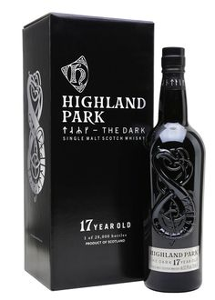 Highland Park The Dark 17 Year Old Scotch Whisky : The Whisky Exchange Cigars And Whiskey, Whiskey Drinks, Scotch Whiskey, Bourbon Whiskey, Whiskey Bottle, Alcohol Bottles, Liquor Bottles, Highland Park Whisky, Jack Daniels