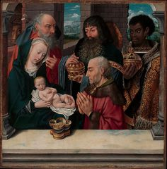 The Adoration of the Magi / La adoración de los Reyes Magos // Copy after Hugo van der Goes // © The Metropolitan Museum of Art // #Jesus #Christ #Epiphany