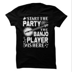 Banjo Party T-Shirts, Hoodies. SHOPPING NOW ==► https://www.sunfrog.com/Music/Banjo-Party.html?id=41382