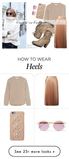 """""""Cashmere Dreams"""" by dreampairs on Polyvore featuring Chinti and Parker, Miss Selfridge, MICHAEL Michael Kors and Sheriff&Cherry"""