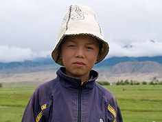 Kyrgyz boy #kyrgyzstan