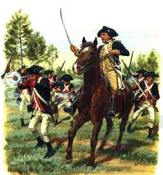 American general leading the Continental Army