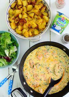 Piersi kurczaka w sosie jogurtowo-musztardowym  - etap 6 Curry, Good Food, Food And Drink, Ethnic Recipes, Cooking, Curries, Healthy Food, Yummy Food