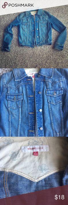 Distressed denim jacket Trendy denim jacket. Distressed Mossimo Supply Co Jackets & Coats Jean Jackets