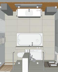 Diana bad single planung badezimmer badezimmer planung for Badezimmer ideen 5qm