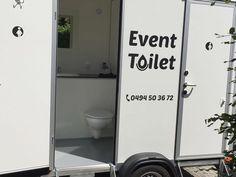 Luxe toiletwagen klein