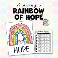 Rainbow of Hope Drawing