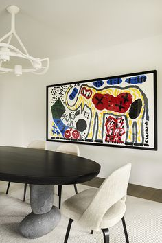 Charles Zana - Architect. Beautiful table.