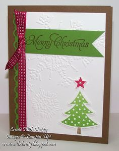 Create With Christy: Stamp-A-Stack
