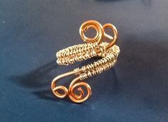 925 Sterling Silver & Solid Copper Wire Wrapped by MoodTherapy