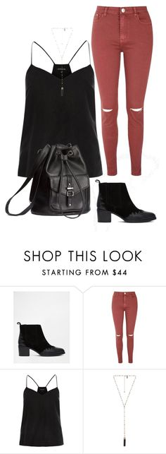 """Pie"" by polyvore393 ❤ liked on Polyvore featuring ASOS, Glamorous, River Island, Natalie B and H&M"