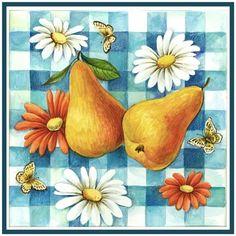 Summertime Pears by Elena Vladykina | Ruth Levison Design