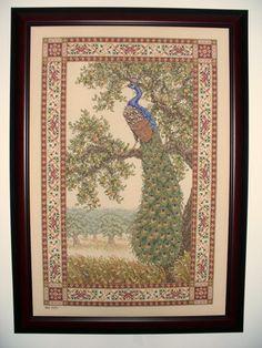 Peacock Tapestry - Teresa Wentzler.
