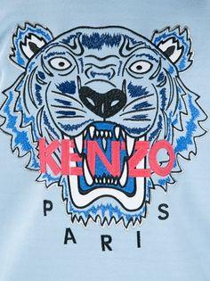 KENZO - slogan tiger print sweatshirt 10