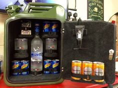 Southern Comfort Jerry Can Mini Bar