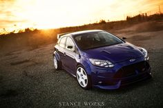 took a Ford Focus ST and sought to build the perfect street/track car with the TrackSTer Focus ST. Read the Focus ST build article. Ford Rs, Car Ford, Race Car Track, Henry Ford, Ford Motor Company, Rally Car, Ford Focus, Best Couple, Honda Civic