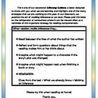 A newsletter for parents and friends about making inferences during reading. Perfect for parent involvement, portfolios, and more. The uncommonly h...
