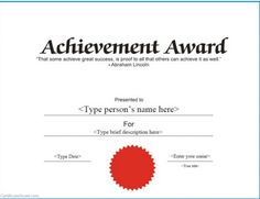 Free Printable Certificates Completion | Free printable certificates of achievement pictures 4