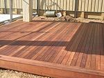 edging on low deck