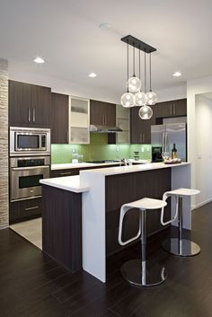 Contemporary Kitchen Design For Small Spaces Gorgeous Comfydwelling » Blog Archive » Small Kitchen Decor 4 Smart Review