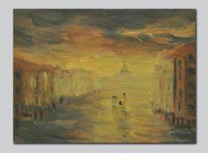 Original Travel Painting by Kresimir Kargacin Oil Painting On Canvas, Painting & Drawing, Watercolor Paintings, Original Paintings, Canvas Art, Impressionism Art, Impressionist, Italy Painting, Landscape Paintings