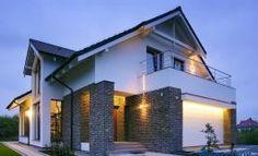 Custom Built Home 2 Story House Design, Village House Design, Bungalow House Design, 30x40 House Plans, German Houses, House Architecture Styles, Model House Plan, Urban Farmhouse, Modern Mansion