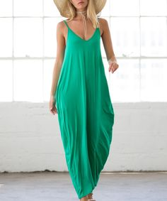 Boasting plenty of boho vibes and a slouchy-cool silhouette, this simple maxi keeps your look breezy no matter your plans for the day. Size 3XL: 57'' long from high point of shoulder to hemKnit95% rayon / 5% spandexHand wash; hang dryMade in the USA