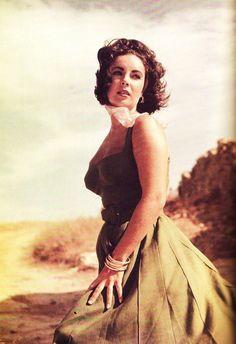 Elizabeth Taylor.