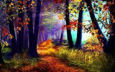 fondos-naturaleza-paisajes-arte-abstracto-fantasia-landscape ...