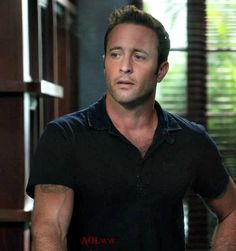 So many things in one... but I've got to go with the one that has gotten me since the beginning... his neck, which prompted me to tell Ess and others that I have an uncontrollable urge to slip my h... #AlexOLoughlin