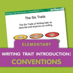 Download this writing mini lesson on Conventions to share with your elementary students.