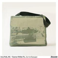 Iron Fish, SG. - Canvas Utility Tote