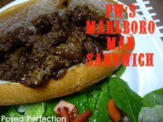 Posed Perfection: PW's Marlboro Man Sandwiches