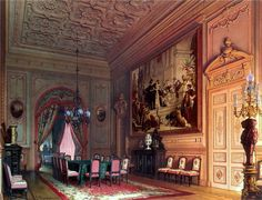 The Ballroom.    Baron Alexander von Stieglitz (1 September 1814, St. Petersburg - 24 October 1884, St. Petersburg), Russian financier an...