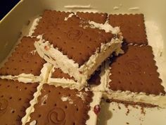 Theano, a m on line Cookbook Recipes, Sweets Recipes, Easy Desserts, Greek Recipes, Ice Cream Recipes, Kai, Icebox Pie, Greek Sweets, Homemade Ice Cream