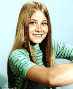 Maureen McComrmick as Marcia Brady ca 1971