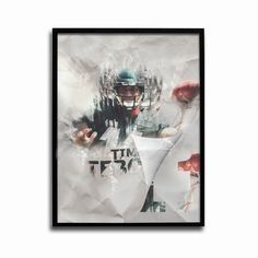 Philadelphia Eagles Tim Tebow Eagle Soars 24x18 Football Poster