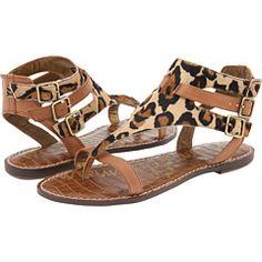 Leopard Print Sandals