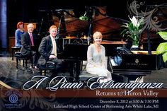 A Piano Extravaganza: A Tour de Force on Four Grand Pianos White Lake, MI #Kids #Events