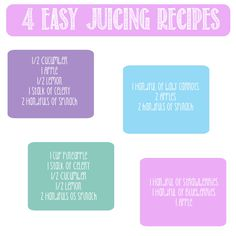 Easy and Delicious Juicing Recipes