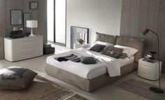 ¿Una cama tapizada en piel? En Retama lo tenemos! www.retama.es