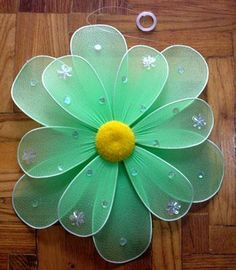 RE: Nylon Flowers